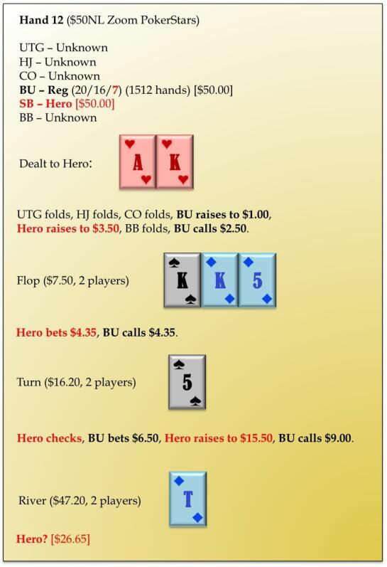 【蜗牛棋牌】六人桌常规局典型牌例100手-12